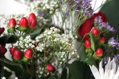 Detail of flower bouquet Stock Photos