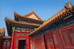 Detail of the Forbidden City, Beijing China Stock Photos