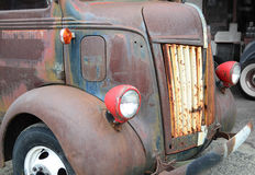 Detail 1947 Ford COE flatbed Truck Stock Photos