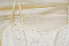 Detail of formal gown Stock Photography