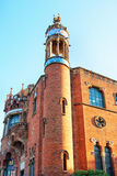 Detail of former Hospital de Sant Pau in Barcelona. In Spain. In English it is called as Hospital of the Holy Cross and Saint Paul. It used to be a hospital Royalty Free Stock Photography