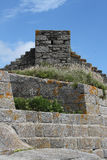 Detail of Fort du Cabellou, Southern Brittany Stock Image