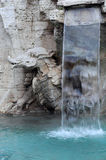 Detail of the Fountain of the Four Rivers Royalty Free Stock Photography