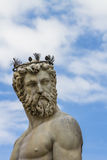 Detail from Fountain of Neptune in Florence Stock Photography