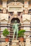 Detail of The Fountain of the Organ, iconic landmark in Villa d'Este, Tivoli Stock Photo
