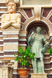 Detail of The Fountain of the Organ, iconic landmark in Villa d'Este, Tivoli Royalty Free Stock Photos