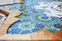 Detail of fountains in Hassan II mosque Stock Photo