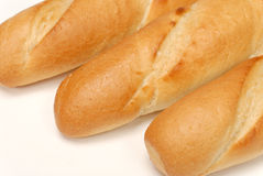 Detail of france baguette Royalty Free Stock Images