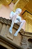 Detail of Franz Kafka´s house, Prague Royalty Free Stock Photo