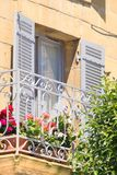 Detail of French house Royalty Free Stock Photos