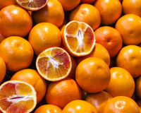 Detail of Fresh Oranges Stock Images