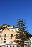 Detail of Frigiliana Village ( Spain ) royalty free stock photo