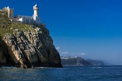 Free Detail From The Sea Of The Lighthouse Of Lekeitio Stock Photos - 109947103