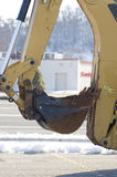 Detail of front end loader Royalty Free Stock Photo