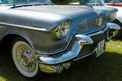 Detail of the front of the full-size luxury car Cadillac Series 62 Royalty Free Stock Image