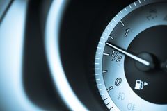 Fuel gage Stock Images