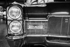 Detail of a full-size luxury car Cadillac Coupe de Ville Royalty Free Stock Photo