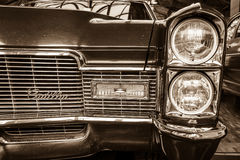 Detail of a full-size luxury car Cadillac Coupe de Ville Stock Photography