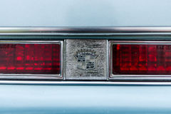 Detail of a full-size personal luxury car Cadillac Eldorado Seventh generation. Stock Photography