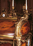 Detail of furniture at Versailles Palace, France Royalty Free Stock Photos
