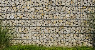 Gabion wall Stock Images