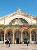 Detail of Gare Paris-Est Royalty Free Stock Photos