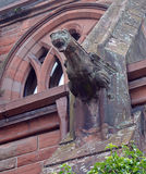 Detail of Gargoyle on Middle Church, Tay Street, Perth, Scotland Royalty Free Stock Images