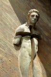 Detail of gate basilica Santa Maria degli Angeli e dei Martiri Stock Image