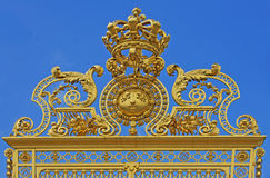 Detail of the Gates, Palace of Versaille Stock Image