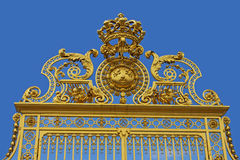 Detail of the Gates, Palace of Versaille Stock Photos
