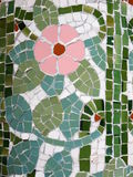 Detail of Gaudi artwork. With tiles Royalty Free Stock Photo