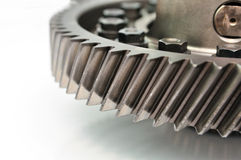 Detail of a gear. Royalty Free Stock Photography