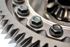 Detail of a gear. Stock Photography