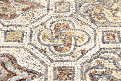 Detail of geometric mosaic Royalty Free Stock Image