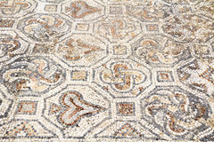 Detail of geometric mosaic Stock Photos