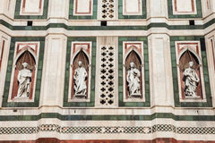Detail of the Giotto Bellfry Royalty Free Stock Images