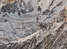 Detail of a Glacier Stock Images