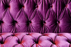 Detail of glamour violet sofa texture close-up stock images