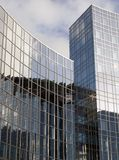 Detail glass building Stock Image