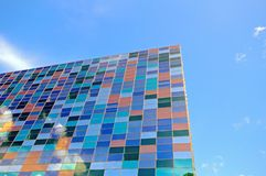 Detail glass building Stock Photography