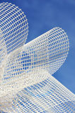 Detail of glass-fiber mesh  Royalty Free Stock Images