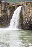 Detail Godafoos Waterfall, Iceland Stock Images