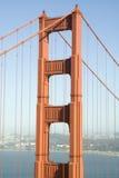 Detail of Golden Gate Bridge Royalty Free Stock Photo
