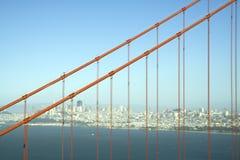 Detail of Golden Gate Bridge Royalty Free Stock Images