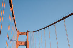 Detail of Golden Gate Bridge Royalty Free Stock Image