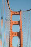 Detail of Golden Gate Bridge Royalty Free Stock Photos