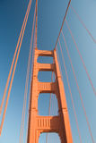 Detail of Golden Gate Bridge Stock Images