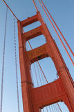 Detail of Golden Gate Bridge in San Francisco, California, United States Stock Photography