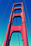 Golden Gate Bridge, San Francisco, United States. Detail of Golden Gate Bridge in San Francisco, United States royalty free stock photo