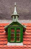 Detail on Golden Lane, Prague. Traditional czech roof detail on Golden Lane, Prague (Zlatca Ulicka royalty free stock photos